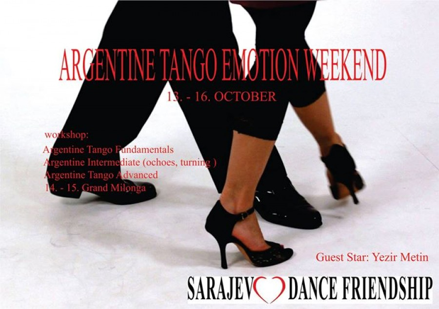 Argentine TANGO emotion weekend