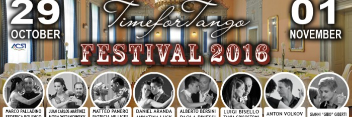 TIMEFORTANGO FESTIVAL 2016 - 7th Edition
