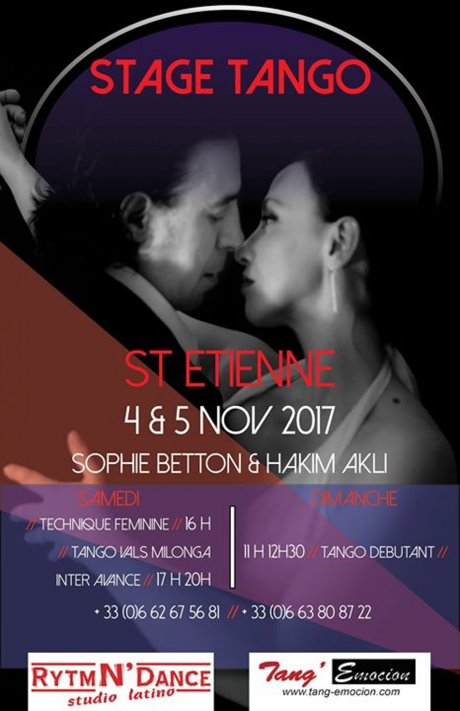 Tango Stage a St Etienne