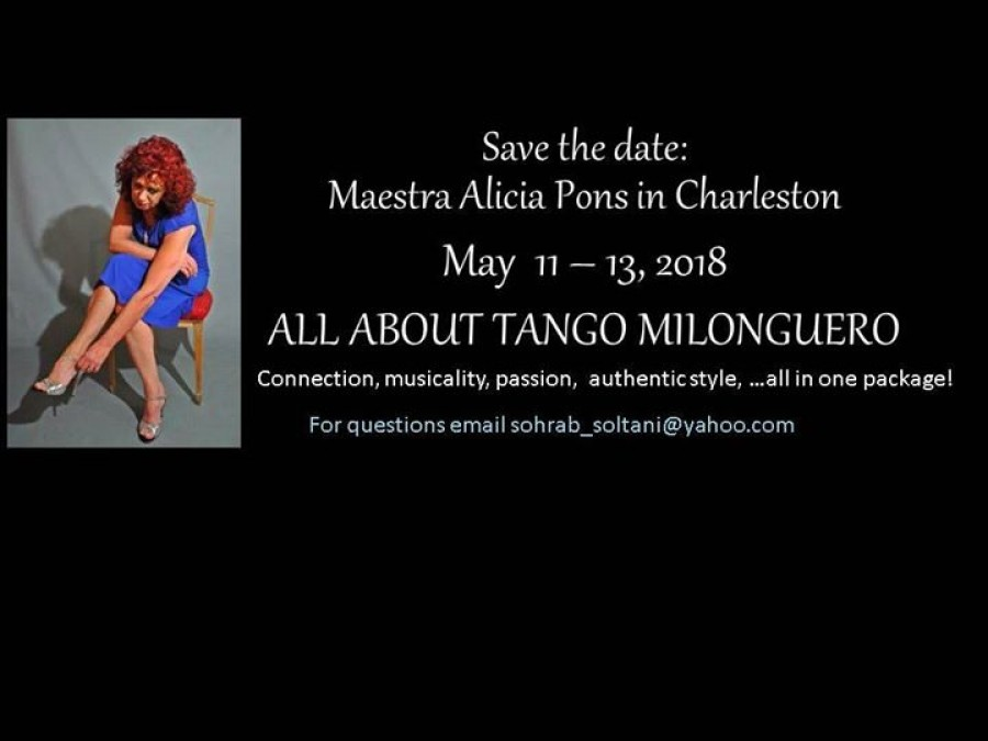 Tango Workshops with Alicia Pons