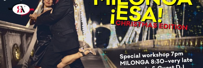 Milonga ESA Christmas edition